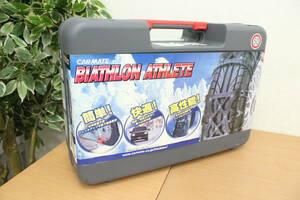 unused CAR MATE Carmate tire chain BIATHLON ATHLETE bias long Athlete BA5