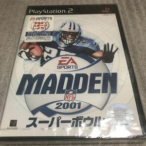 ◆新品未開封 マッデンNFLスーパーボウル2001 PS2 EAスポーツ アメフト