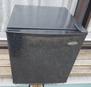 小型冷蔵庫 ダカスDR-45D2 ダークグレー 扉は石のような模様 ホテル、一人暮らし、ガレージ、ベッドルームに