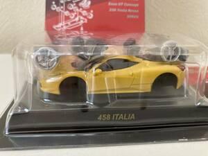 1/64 京商 Ferrari 458 ITALIA イタリア イエロー 黄 フェラーリ ミニカーコレクション Ⅷ 8 サークルK サンクス