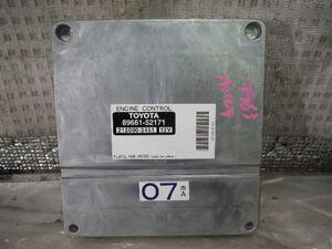 2008г.   Porte  CBA-NNP11  компьютер двигателя  1NZFE [ZNo:30013159] 7963