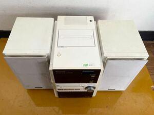 【動作品】 Panasonic SC-PM730SD シルバー D-dock 5CD パナソニック SDステレオシステム SA SB PM730