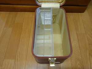 即決!コスメトレンチメイクボックス化粧道具箱メイクアップケース