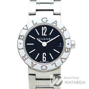 ブルガリ 腕時計 ブルガリブルガリ BB23 SS レディース Qz 黒文字盤 送料無料