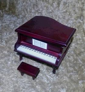 置物 ピアノ ミニチュア オルゴール インテリア 雑貨 小物入れ 宝石箱 ジャンク so25