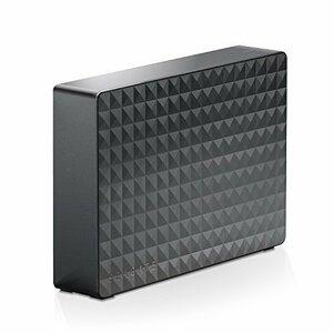 Seagate HDD 外付けハードディスク 4TB USB3.0 テレビ録画対応 かんたん接続ガイド付 静音設計 Windows/macOS両対応