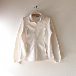 【送料無料】コロンビア アウトドア フリースジャケット ホワイト 白色 レディースM Columbia DD0053