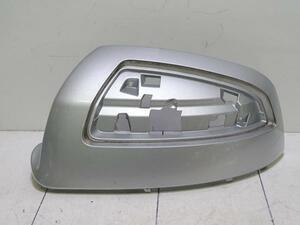 J5821/ ベンツ 純正 Cクラス W204 前期 左 ドアミラーカバー シルバー