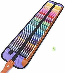色鉛筆 72色 油性色鉛筆 塗り絵 描き用 収納ケース付き 鉛筆削り付き 携帯便利