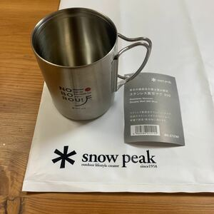 スノーピーク snow peak ステンレス真空マグ 300 限定品