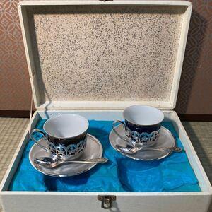 【A0234】ティーセット カップ&ソーサー アンティーク 昭和レトロ 大正ロマン 大正モダン Teaセット