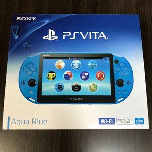 PlayStation Vita Wi-Fiモデル アクア・ブルー 新品未開封