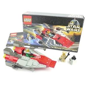 廃盤 希少 7134 レゴ スターウォーズ Aウィング ファイター パイロット メカニック ミニフィグ レア LEGO STAR WARS A-WING FIGHTER