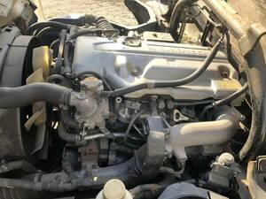 H.19 year Canter engine Ay Z 2126 PA-FE72BE 4M42 low running 7 ten thousand . Yahoo auc necessary trade in