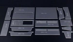 財布 万能型 透明 アクリル型 レザークラフト 型紙