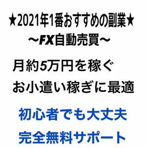 2021年絶対流行る副業★FX自動売買★