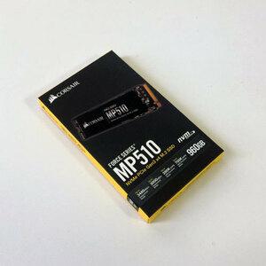 【新品】Corsair CSSD-F960GBMP510B 960GB 内蔵 SSD Force Series MP510 コルセア NVMe PCIe Gen3x4 M.2