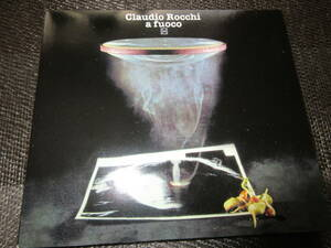 [12c] デジパック仕様 Cramps Recordsカンタトゥーレ!!! Claudio Rocchi(クラウディオ ロッキ) / A Fuoco / イタリア盤