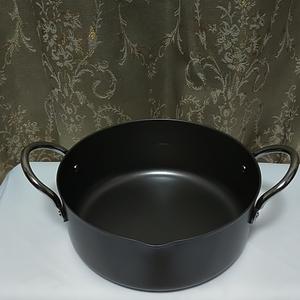 両手鍋 鍋 天ぷら鍋  鉄製 貝印株式会社