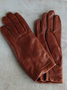 フランスアンティーク 手袋 グローブ レディース 服飾 蚤の市 ブロカント ビンテージ レザー風