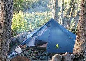 【軽さを追求】 フライシート&インナーテントセット 1人用 ソロ ツーリング 軽量 コンパクト 防水 キャンプ ハイキング 登山 簡単設営