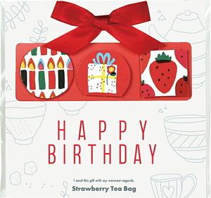 【11604】ミート&グリート ティーバッグ HAPPY BIRTHDAY(ストロベリー)