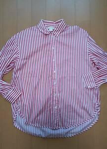 美品!H&M ストライプオーバーシャツ 36
