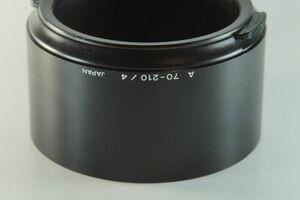 【送料無料 実用品】 MINOLTA A 70-210/4 ミノルタ AF70-210mmF4用 mi-001
