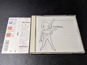 トータス / TNT Tortoise 国内盤 帯付き ポストロック名盤 TKCB-71338 美品の部類 TNT(竹村延和のリミックス)収録
