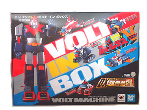 新品 バンダイ DX超合金魂 VOLT IN BOX 超電磁マシーンボルテスV ボルテスV ボルトインボックス