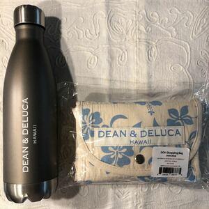 DEAN&DELUCA ハワイ限定 エコバッグとステンレスボトルの2点セット