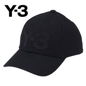 Y-3 ワイスリー adidas アディダス Yohji Yamamoto ヨウジヤマモト CL LOGO CAP GK0626 ロゴキャップ 帽子 ブラックブラックOSFA