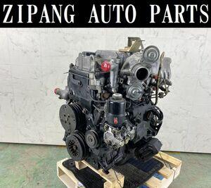 MT034 V78W パジェロ ロング Sエクシード 4WD 4M41 エンジン ◆366153km ★Compression OK ★即決★