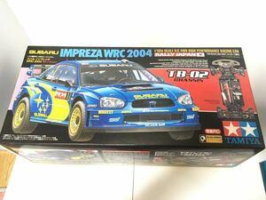タミヤ TAMIYA 1/10 電動RCカー スバル インプレッサ WRC 2004 ラリー・ジャパン 未組立