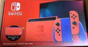■新品未開封/送料無料■Nintendo Switch マリオレッド×ブルー セット 本体 ニンテンドースイッチ