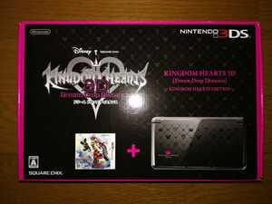 ニンテンドー3DS 本体 キングダム ハーツ 3D ドリーム ドロップ ディスタンス KINGDOM HEARTS EDITION 新品・未使用