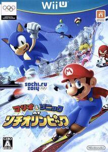 マリオ&ソニック AT ソチオリンピック/WiiU
