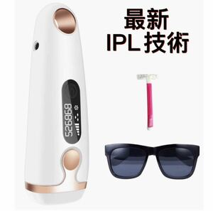 レーザー脱毛器 永久脱毛 IPL光脱毛器 家庭用 自動照射 99万回照射 5段階調節 美肌機能搭載 全身用 日本語説明書付き