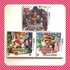 【まとめ売り☆】3DS用ソフト 3枚セット