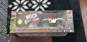 (早い者勝ち残り最後1台)ROCK OFF-ROAD R/C (1:43)(レッド)!