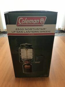 ★新品未使用★コールマン Coleman 2500ノーススター NorthStar LPガス ランタン グリーン 2000015520 アウトドア キャンプ テント