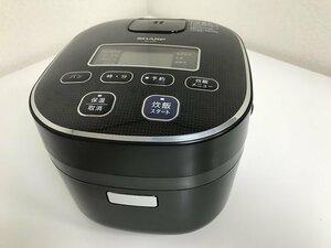 送料無料 ■ シャープ 電子ジャー炊飯器 3合 ブラック系 KS-C5F-B パン調理機能 おいそぎ炊飯