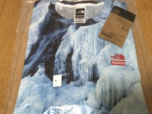 送料無料 21SS Supreme × The North Face Ice Climb Tee L Tシャツ ノースフェイス 新品 即決