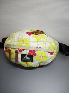 USA製 グレゴリー テールメイトXS スプリングフラワー 花柄 ボディバッグ