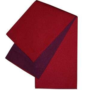 日本製 本袋 浴衣帯 リバーシブル 半幅帯 小袋帯 半巾帯 無地 ゆかた帯 エンジ系×紫系