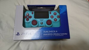 【ゲオ限定 正規品】PS4 ワイヤレスコントローラー(DUALSHOCK4) ベリー・ブルー