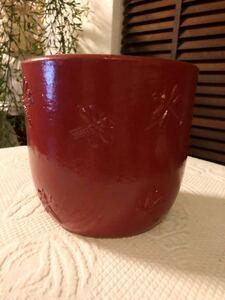 IKEA トンボ 植木鉢カバー