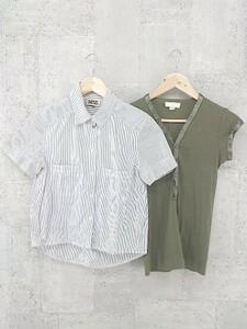 ◇ DIESEL ディーゼル まとめ売り2点セット XSサイズのみ 半袖 シャツ コットン ニット セーター * 1002799957960