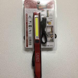充電式LEDペンライト(レッド)