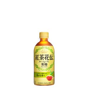 紅茶花伝 無糖ストレートティー PET 440ml 24本 (24本×1ケース) 紅茶ボトル缶 コカコーラ社 【送料無料】